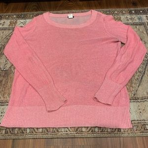 Thin Pink Sweater